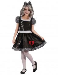 Gebroken hart poppen kostuum voor meisjes