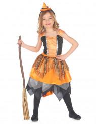 Spinnenweb heksen kostuum voor meisjes