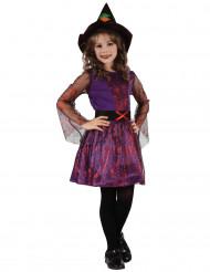 Heksen spinnenweb kostuum voor meisjes
