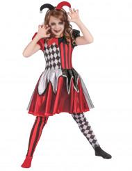Duivelse harlekijn kostuum voor meisjes