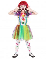 Verf clownskostuum voor meisjes