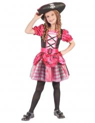 Roze piraten zeerover kostuum voor meisjes