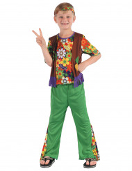 Flower Power hippie kostuum voor jongens