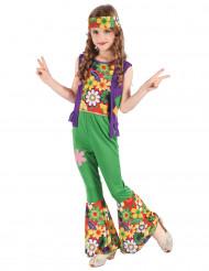 Hippie Flower Power kostuum voor meisjes