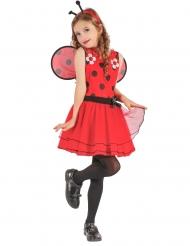 Bloemen lieveheersbeestje kostuum voor meisjes