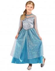 Glitter ijsprinses kostuum voor meisjes