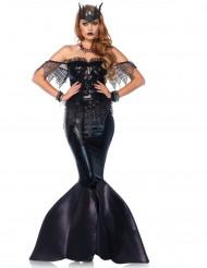 Donkere zeemeermin kostuum voor vrouwen - Premium