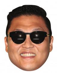 Kartonnen masker van Psy™ - Gangnam Style