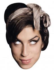 Kartonnen Amy Winehouse™ masker