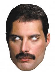 Kartonnen masker Freddy Mercury™