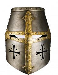 Kartonnen ridder masker voor volwassenen