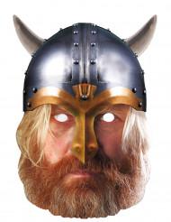 Kartonnen Viking masker
