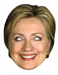 Kartonnen Hillary Clinton masker