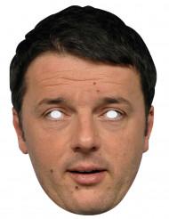 Matteo Renzi kartonnen masker