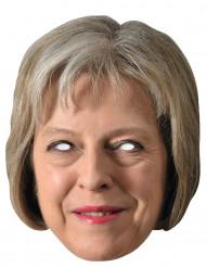 Kartonnen Theresa May masker