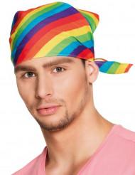 Veelkleurige bandana voor volwassenen