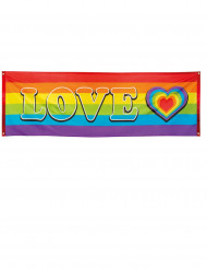Love regenboog banner