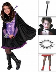 Girly Vampira kostuum voor meisjes