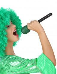 Groene zang microfoon