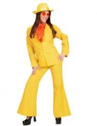 Geel kostuum voor vrouwen