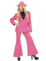 Stijlvol roze kostuum voor vrouwen