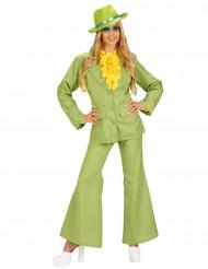 Groen kostuum voor vrouwen