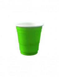 20 groene shooter glaasjes