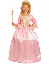 Luxe roze prinsessenkostuum voor meisjes
