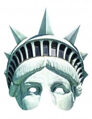Kartonnen Vrijheidsbeeld masker
