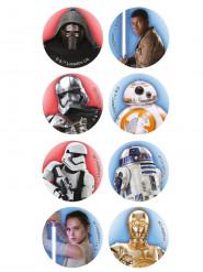 16 mini Star Wars suikerschijven