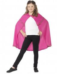 Roze prinsessen cape voor meisjes