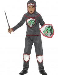 Draken ridder in malienkolder outfit voor jongens