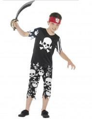 Doodskop piraten kostuum voor jongens