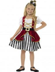 Miss piraten kostuum voor meisjes