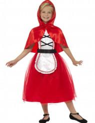 Roodkapje kostuum met cape voor meisjes