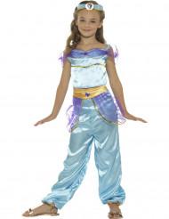 Blauw Arabisch prinses kostuum voor meisjes