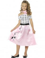 Girly jaren 50 kostuum voor meisjes