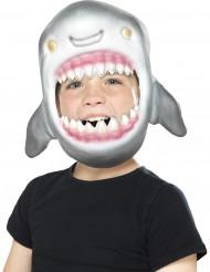 Haaienkop masker voor kinderen