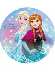 Eetbare Frozen™ taartdecoratie