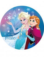 Elsa en Anna Frozen™ taartversiering