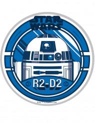 Eetbare taartdecoratie Star Wars™ R2-D2