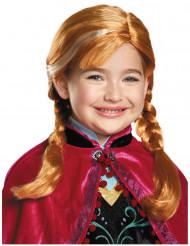 Anna Frozen™ pruik voor meisjes
