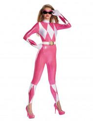 Sexy roze Power Rangers™ kostuum voor vrouwen
