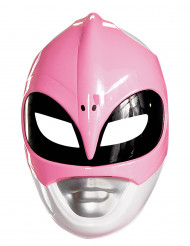 Roze Power Rangers™ masker voor volwassenen