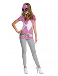 Roze Power Rangers™ kostuum voor vrouwen