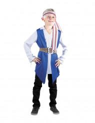 Blauw piratenkostuum voor jongens