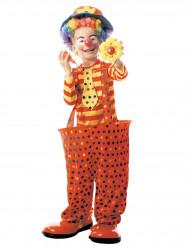 Clown kostuum met hoepel voor kinderen