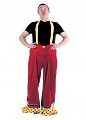Clown broek voor volwassenen