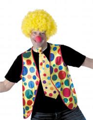 Clown gilet voor volwassenen