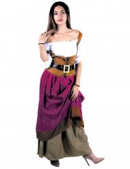 Middeleeuws taverne kostuum voor vrouwen